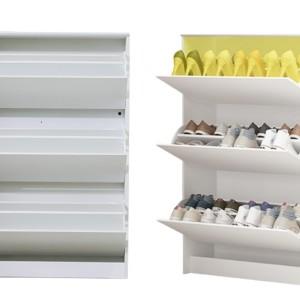 الميلامين الأبيض قلب تصميم حذاء تخزين مجلس الوزراء