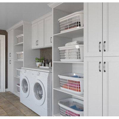 l shaped laundry room cabinets makers design set