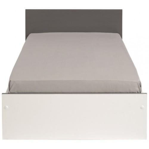 شقة رخيصة بسيطة الخشب الرقائقي سرير للبيع