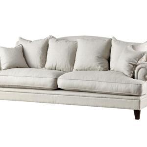 مشروع أوقات الفراغ النسيج تصميم المفروشات والأثاث أريكة بيضاء