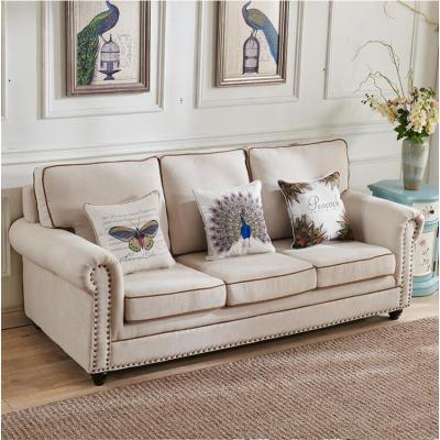 Fabric sofa upholstery furniture set design for sale