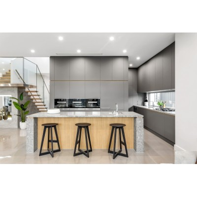 Modern type grey painting australia house grey painting kitchen cabinet project