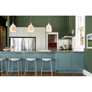 Elección de colores de pared de cocina de tendencia