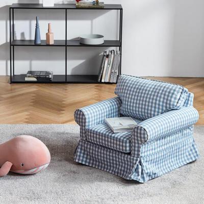 Juego de sofás para niños de tela clásica de estilo americano a la venta
