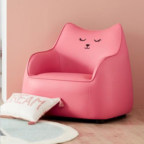 رخيصة النسيج الملونة بو الجلود الأطفال تصميم أريكة للبيع