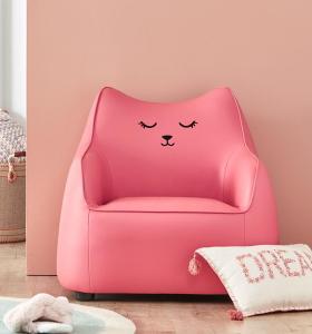 diseño colorido barato del sofá de los niños del cuero de la PU de la tela en venta