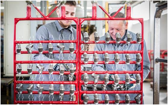 tratamiento de superficies metálicas plantación de zinc