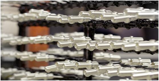 tratamiento de superficies metálicas Chapado en plata