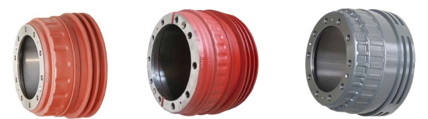 Steel hoop brake drum