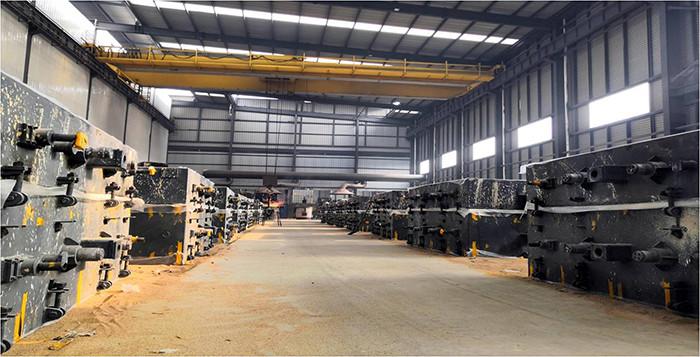 V-process modeling production line