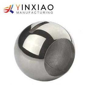 Piezas centrífugas de encargo del acero inoxidable del bastidor de la alta precisión para la vávula de bola