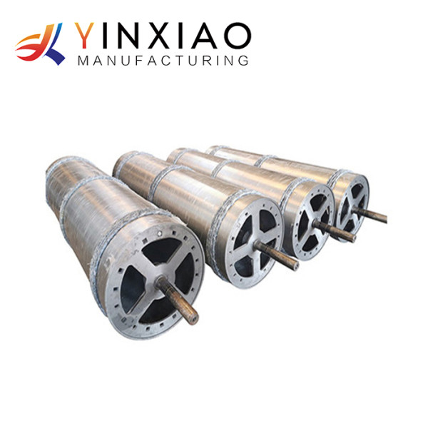 Custom High Precision Stainless Steel Centrifugal Casting Parts for Furnace Rollers