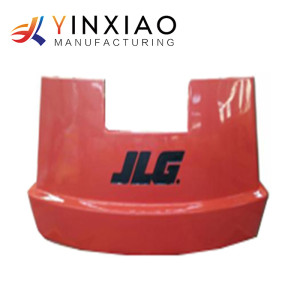 OEM High Precision Vacuum Casting Parts for Manned Engineering Vehicles Counterweight