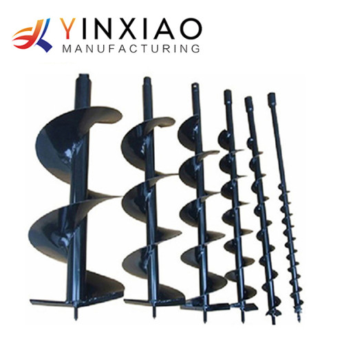 OEM/ODM High Precision Agricultural Machinery Parts for Spiral ground drill digging machine bit