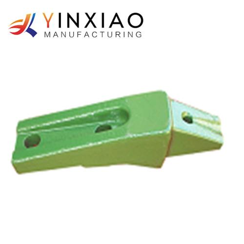 Piezas de acero de alta calidad modificadas para requisitos particulares del bastidor del hierro para el diente del cubo