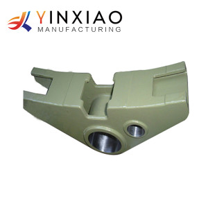 High Precision Custom Gravity Casting Parts For Train And Railway