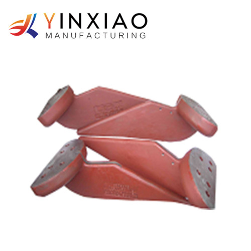 High Precision Custom Die casting Alloy Steel Parts for railway