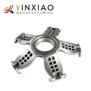 Modifique las piezas de torneado de aluminio para requisitos particulares del CNC de la alta precisión para el mecanizado de ruedas de aluminio