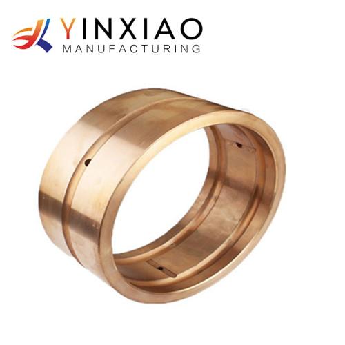 Piezas de fresado personalizadas de latón / cobre CNC de precisión para piezas de maquinaria
