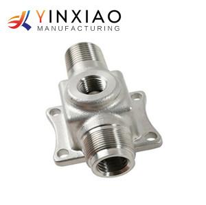 Piezas que trabajan a máquina del CNC del eje del acero inoxidable 3/4/5 de la alta precisión del OEM para la máquina de la instalación eléctrica
