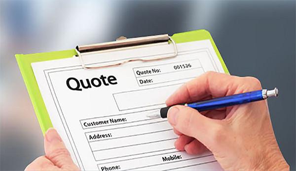 Cuando queremos obtener una cotización para una pieza nueva, ¿qué información debemos proporcionar a