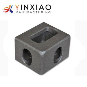 Piezas de acero de los bastidores de inversión de la alta precisión para la colocación de la esquina del envase