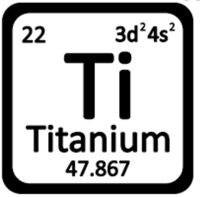 Titanium steel