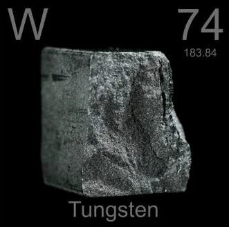 Tungsten steel