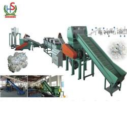 Waste plastic film recycling/crushing/washing line/machine