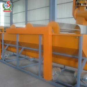 Usine de machine de traitement d'unités de lavage de film de film de HDPE de ferme de déchets
