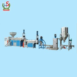 Plastic Pellets Making Machine for PE PP Film Pelletizing Recycling Plant