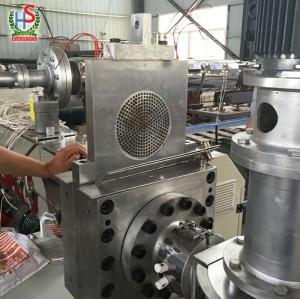 Granules en plastique faisant la machine pour l'usine de réutilisation de granulation de film de PE pp