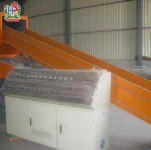 Broyeur de rebut en plastique de film de pp / PE, machine de réutilisation en plastique de Polystar