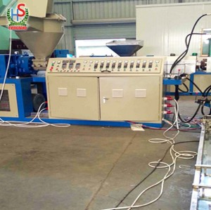 Waste Pp Pe Plastic Film Recycling Pelletizing Line Granules Production Line