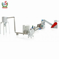 Pp Pe Film Plastic Recycling Pelletizing Machine
