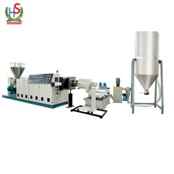 PE PP Plastic Hot Cutting Granulating Plant/Machine