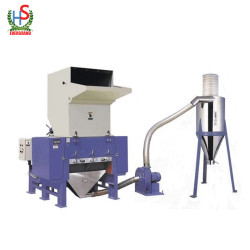 Automatic low price pet flakes plastic crusher for pet water bottles