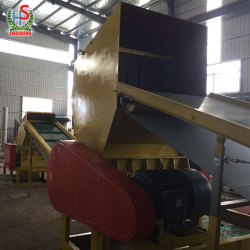Easy operating stainless steel recycle pet bottle plastic crusher machine