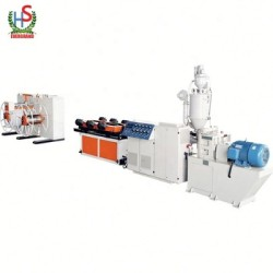 Plastic Pe Single Wall Corrugation Pipe Production Machine