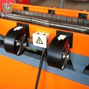 Machine de production de tuyaux ondulés à paroi simple en plastique Pe