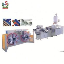 Plastic PE PP Single Wall Corrugation tube Production line