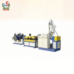 Plastic Pvc/Pe/Pp Single Wall Corrugation Pipe Production Machine