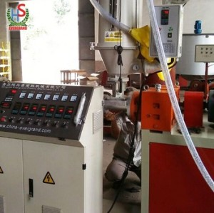 Ligne de production de tuyaux ondulés à double paroi HDPE PP machine / ligne d'extrusion