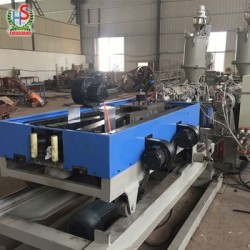 Hdpe Pp double wall corrugated pipe production line machine/extrusion line