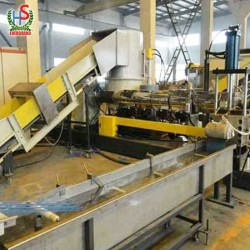 Waste Plastic Bags Film Recycling Pelletizing Machine Line Price With Compactor