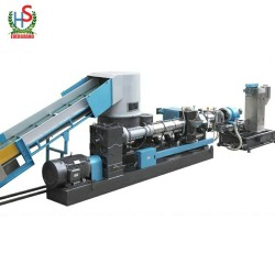 PE Film Plastic Compactor Jumbo Bag Granulator Pellet Pelletizer Recycling Pelletizing Machine