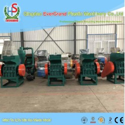 Automatic low price plastic bottle crusher for pp pvc pe recycling line