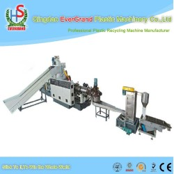 PP PE Film Granulating/Woven Bag Pelletizing/Plastic Recycling Machine with compactor