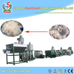High Quality Hot Sell Waste Recycling PP PE Film Washing Crushing Line/Machine