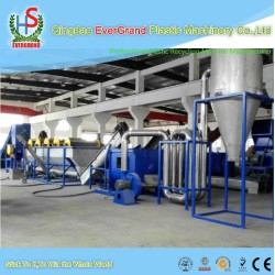 Plastic film recycling crushing washing and drying machine/Plastic film recycling line